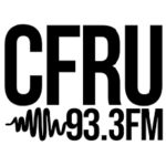 CFRU 93.3fm logo